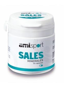 Sales Minerales 25 cápsulas amlSport Ana Maria LaJusticia