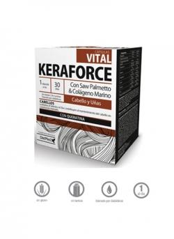 Keraforce Vital Cabello y Uñas 30 cápsulas Dietmed