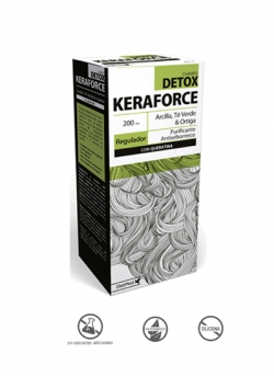 Keraforce Detox Champú 200 ml DietMed