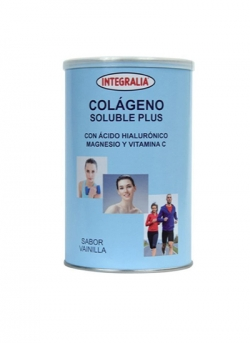 Colágeno Soluble Plus 360 gr Vainilla Integralia
