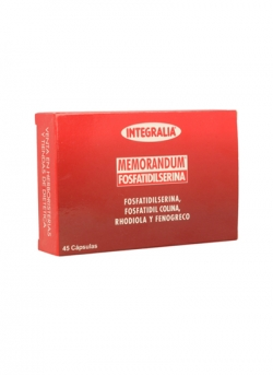 Memorandum Fosfatidilserina 45 cápsulas Integralia