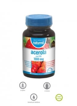 Acerola Naturmil 60 comprimidos 1000 mg Dietmed