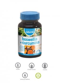 Boswelia + Curcumina Naturmil 90 comprimidos Dietmed