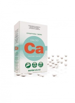 Calcio 30 comprimidos 1275 mg Soria Natural