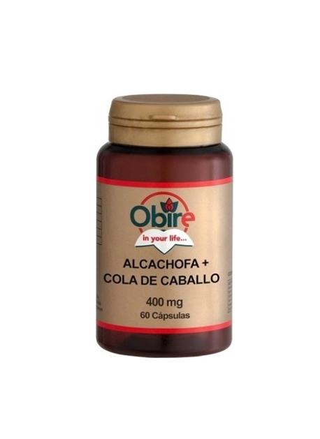 Alcachofa Cola de caballo 60 capsulas obire