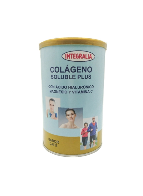 Colageno Soluble Plus 360 gr Sabor Cafe Integralia
