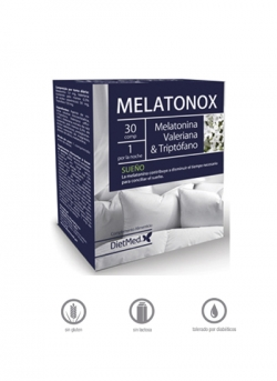Melatonox 30 comprimidos Dietmed