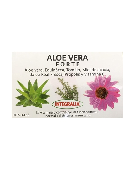 Aloe Plus 20 viales Integralia