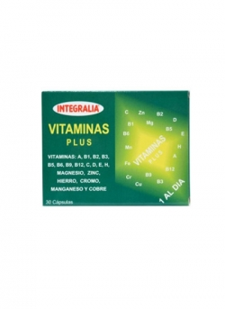 Vitaminas Plus 30 capsulas Integralia