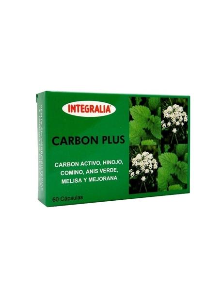Carbón Plus 60 capsulas Integralia