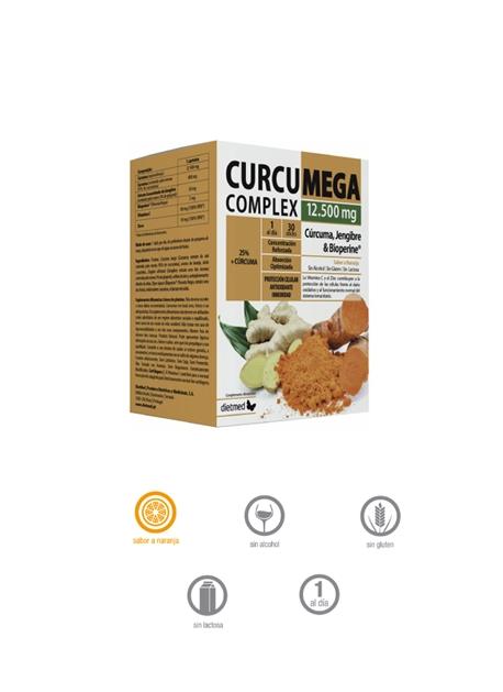 CurcuMega Complex 30 sticks DietMed