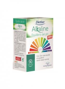 Alkaline Equilibrio del pH 90 cápsulas Dietisa
