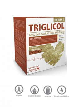 Triglicol Norm 7 30 cápsulas Dietmed