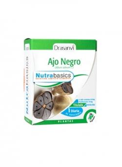 Ajo Negro Nutrabasics 24 cápsulas 797 mg Drasanvi
