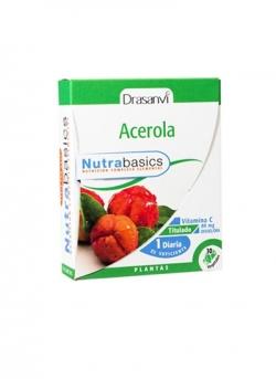 Acerola 30 cápsulas 499 mg Drasanvi