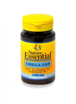 Omega 3-6-9 30 perlas Nature Essential