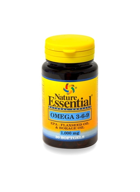 Omega 3 6 9 30 perlas Nature Essential