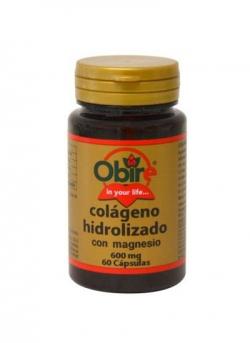 Colágeno Marino Hidrolizado + Magnesio 60 cápsulas Obire