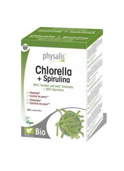 Chlorella + Spirulina 200 comprimidos Physalis