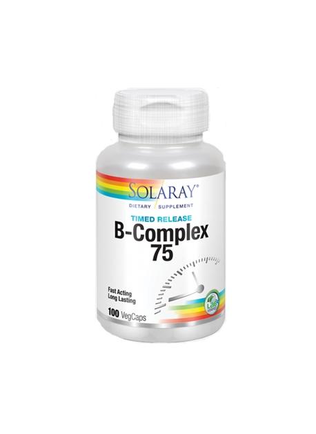 B - Complex 75 100 VegCaps Solaray