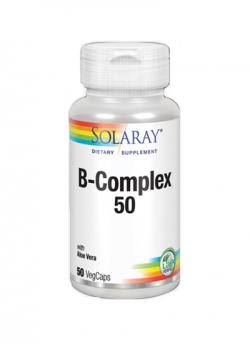 B - Complex 50 50 VegCaps Solaray