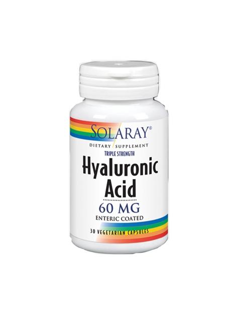 Ácido Hialurónico 30 cápsulas vegetarianas Solaray
