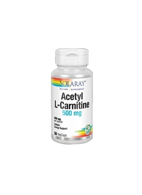 Acetyl L Carnitina 30 VegCaps Solaray