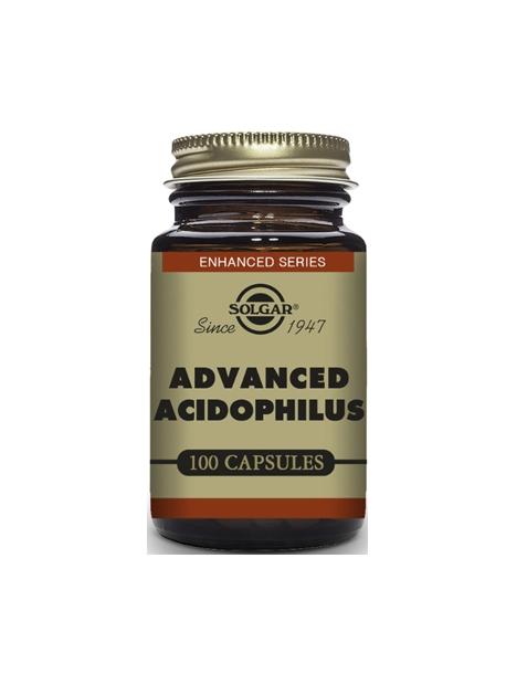 Acidophilus Avanzado 100 cápsulas vegetales Solgar