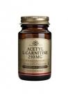 Acetil L-Carnitina 30 cápsulas vegetales 250 mg Solgar