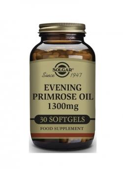 Aceite de Prímula de Rosa 30 cápsulas blandas 1300 mg Solgar
