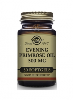 Aceite de Prímula de Rosa 30 cápsulas blandas 500 mg Solgar