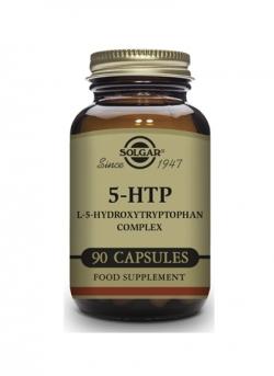 5 HTP Hidroxitriptófano 90 cápsulas vegetales Solgar