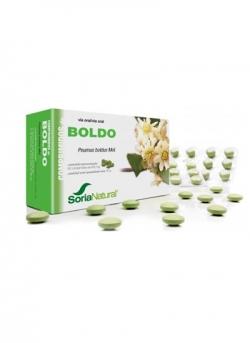 Boldo 60 comprimidos 600 mg Soria Natural