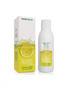Auris Lemon Licor de Limón 60 ml Soria Natural