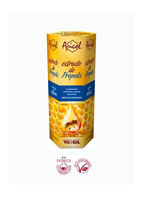 Extracto de Própolis Apicol 60 ml Tongil