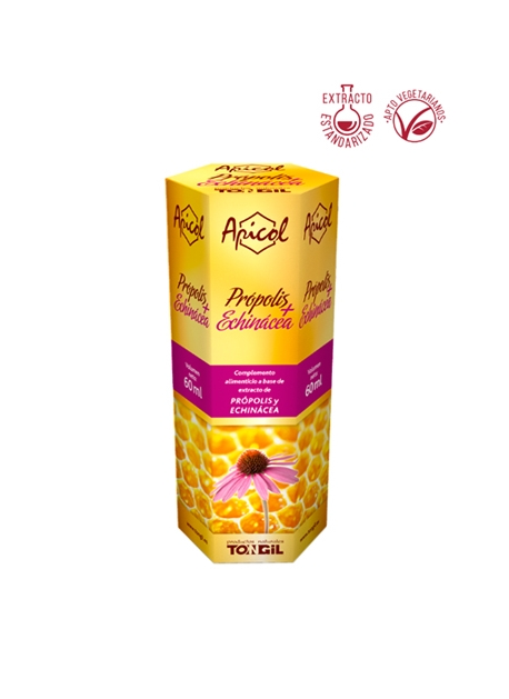 Própolis + Equinácea Apicol 60 ml Tongil