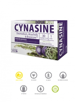 Cynasine Depur Plus 30 ampollas 15 ml Dietmed