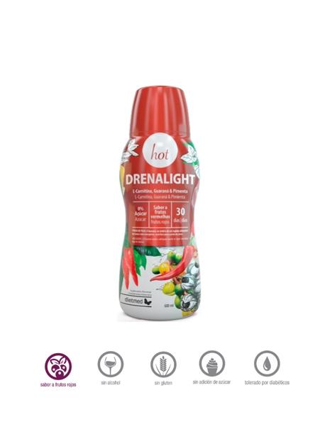 Drenalight Hot Extra Burner 600 ml Dietmed