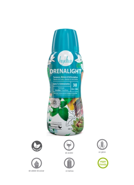 Drenalight Hydra - Super Drainer 600 ml DietMed