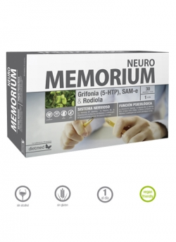 Memorium Neuro 20 ampollas 15 ml DietMed