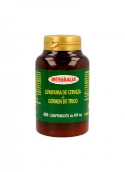 Levadura de Cerveza Germen Trigo 450 comprimidos Integralia