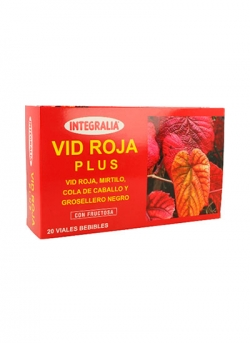 Vid Roja Plus 20 viales Integralia