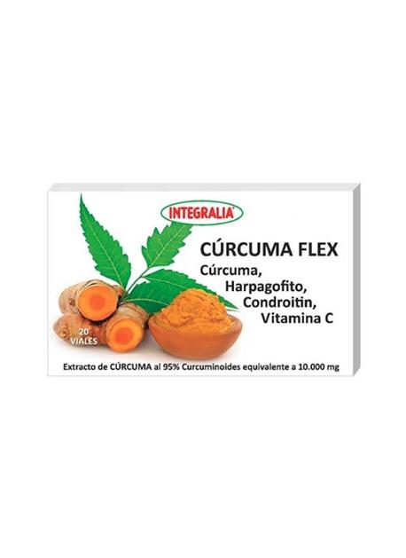 Cúrcuma Flex 20 viales Integralia