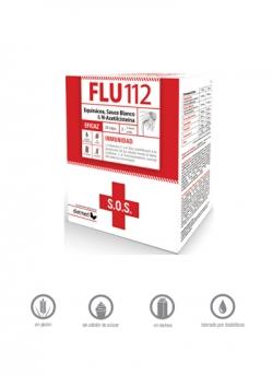Flu 112 S.O.S 30 cápsulas Dietmed