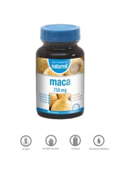 Maca Naturmil 60 comprimidos 750 mg Dietmed