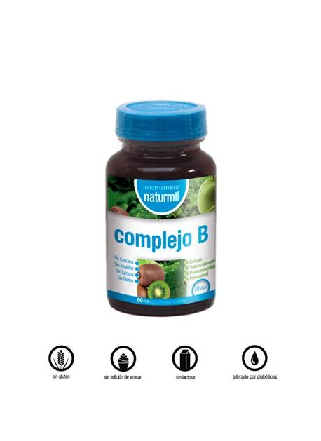 Complejo B Naturmil 60 perlas DietMed