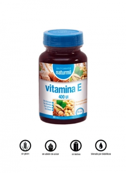 Vitamina E Naturmil 30 perlas 400 U.I. Dietmed