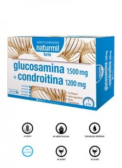 Glucosamina Condroitina Forte 20 viales Naturmil Dietmed