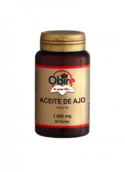 Aceite de Ajo 1000mg 60 perlas Obire