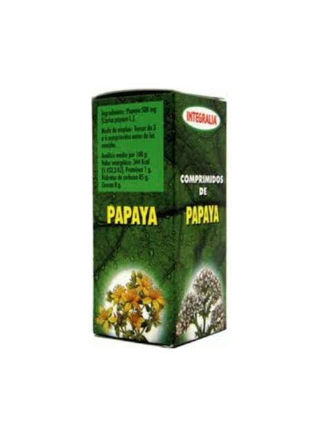 Papaya comprimidos Integralia